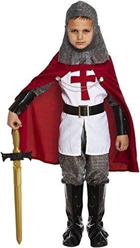 Deluxe Ritterkostüm für Jungen, Lanzelot-Kostüm, Tolles Kostüm, (Kid Ritter Kostüm)