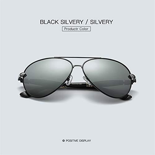 Wang-RX Polarisierte sonnenbrille männer frauen legierung rahmen uv400 luxus shades für männliche sonnenbrille weiblich