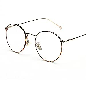 Unisex ovale montatura occhiali da vista alxcio neutral for Occhiali tondi da vista vintage