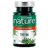 Boutique Nature - Complément Alimentaire - Thym - 90 Gélules Végétales - Soulage en cas d'irritation de la gorge ou des cordes vocales