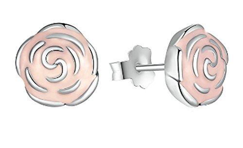 saysure-925-sterling-silver-rose-petal-garden-stud-earrings-pink
