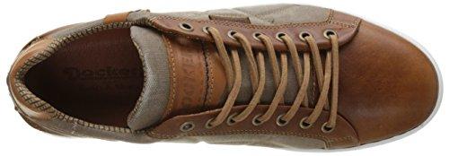 Dockers by Gerli Herren 40cy001-167470 Flach Braun (Cognac)