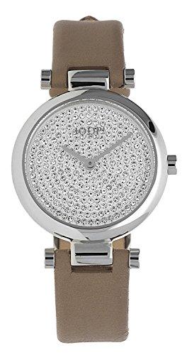 Joop! Damen Analog Quarz Uhr mit Leder Armband JP101722002