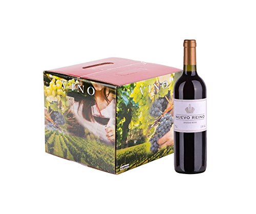 Bag In Box Vino Nuevo Reino Pack Con 5 Litros Vino Tinto