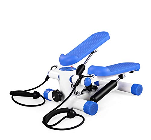 ALOOVOO Stepping Machine Multifunzione - Esercizio aerobico Tapis roulant - Esercizio Fisico Step Stepper aerobico per Principianti e utenti esperti
