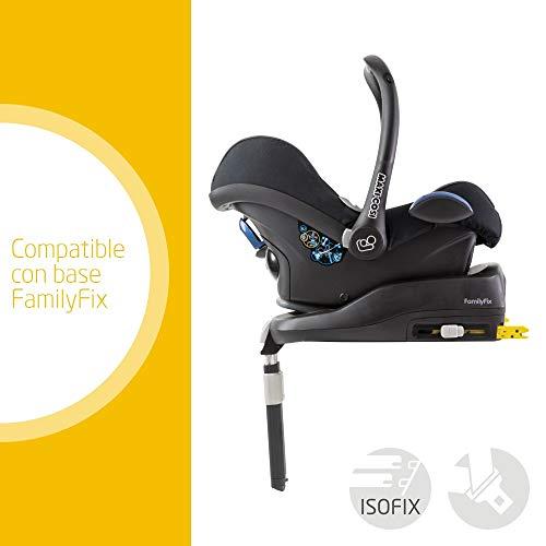 Imagen para Maxi-Cosi CabrioFix silla de auto reclinable y de alta seguridad para tu bebe, 0-12 meses, 0-13 kg, color negro  (triangle black)