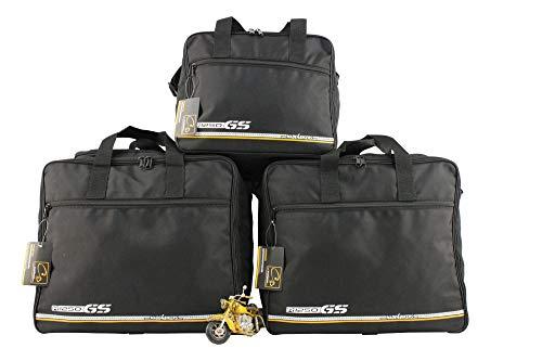 made4bikers Promotion: Borse interne per valigie moto adatte per modelli BMW Adventure R1250GS (K51) dal 2018 (R1250 GS) - set completo - per valigie in alluminio