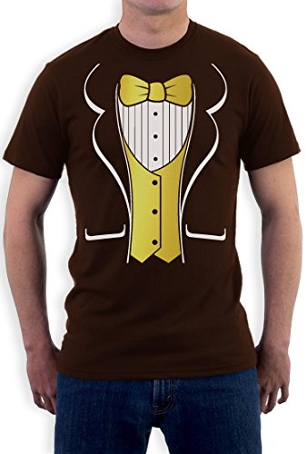 or Costume Party Bachelor Carnival Theater T-Shirt XX-Large Braun (Carnival Dress Up Ideen)