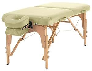 Massageliege TAOline »Balance II« (71 cm), mobil, tragbar, creme-beige, verstellbare Kopfstütze, Armschlaufe & Tragetasche inklusive
