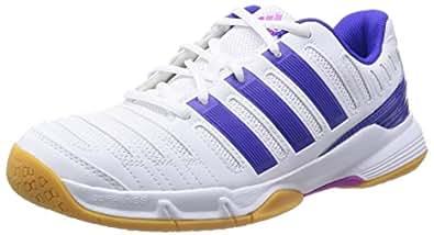 Adidas Performance Essence 11, Sports en salle Femme, Blanc (Ftwr White/Night Flash S15/Flash Pink S15), UK 10-EUR 44 2/3