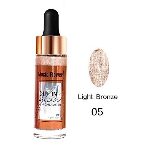 Eaylis Correcteur De Teint Makeup Poudre Brillante 7 Colors Concealer Shimmer Face Glow Liquid Highlighter Cream