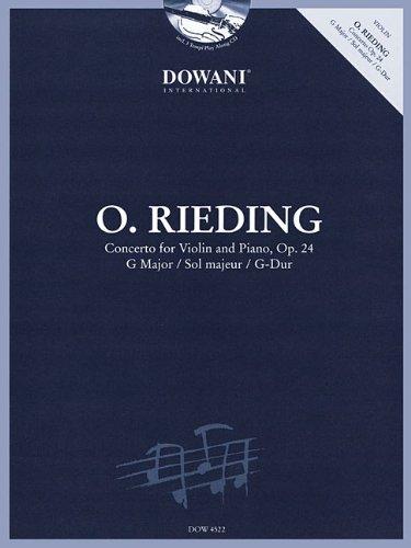 Oskar Rieding Concerto for Violin and Pi...