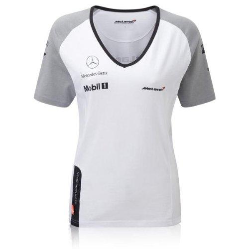 mclaren-mercedes-kevin-magnussen-da-donna-2014-bianco-girocollo-t-shirt-donna-white-l-da-donna-90-10