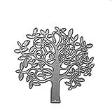 Burane Jin Baum Metall Stanzformen Schablone DIY Scrapbooking Album Stempel Papier Karte Prägung Handwerk Dekoration