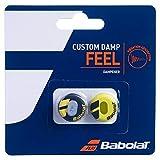Babolat racket accessoires Custom Damp 2er, zwart geel, 1size