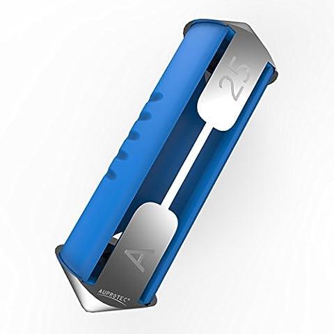 Auprotec® Torpedo fusible ceramique 5A - 40A fusibles modèle Bosch choix: 25A Ampere bleu, 5 pièces