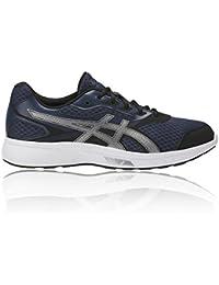 ASICS Men's Stormer Insignia Blue/Silver/Black Running Shoes-6UK/India (40 EU) (T741N.5093)
