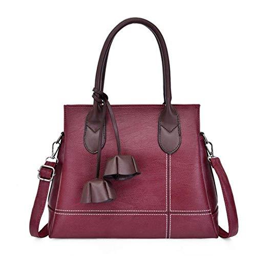 Handtasche Sac EIN Haupt Damenmode Aus Weichem Leder Frauen Tasche Designerin Crossbody Umhängetaschen Casual Top-Griff Taschen, Blau