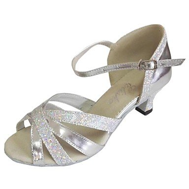 Silence @ Femme latine Chaussures Talon Salsa Dance Sandales Violet