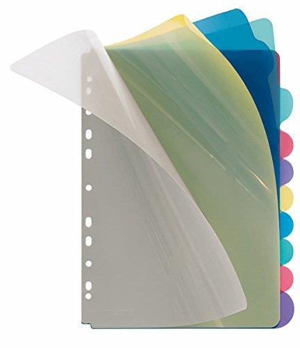 VeloflexDivider–Dividers (Multicolour, Polypropylene (PP), A4)