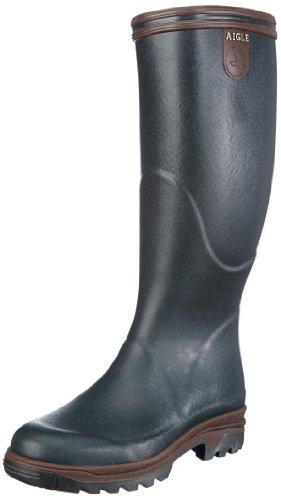 AIGLE Parcours, Stivali di gomma uomo, colore: Verde/Bronzo, Negro (bronze (bronze/noyer)), 37
