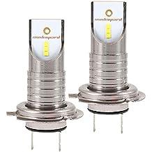Dightyoho 2pcs Bombillas H7 LED de Coche, Faros de Alta Vision Superbrillantes Impermeables IP68 para