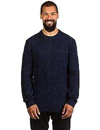 Quiksilver panuku Jersey para hombre, Hombre, PANUKU, Navy Blazer - Solid, medium