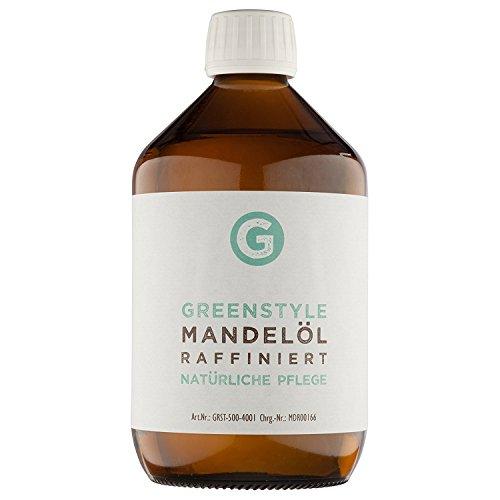 Mandelöl (1000ml) - reines Basisöl zur Pflege von Haut und Haar