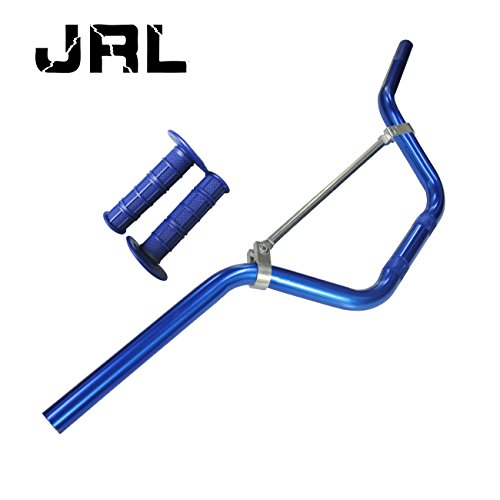 "22mm 7/8 ""Griff Bar & Handgriff für Pit Dirt Trail Bike Thumpstar Quad Bike ATV Blau"