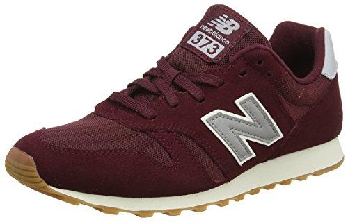 New Balance Herren ML373 Sneaker, Rot (Burgundy/ML373OBM), 42 EU