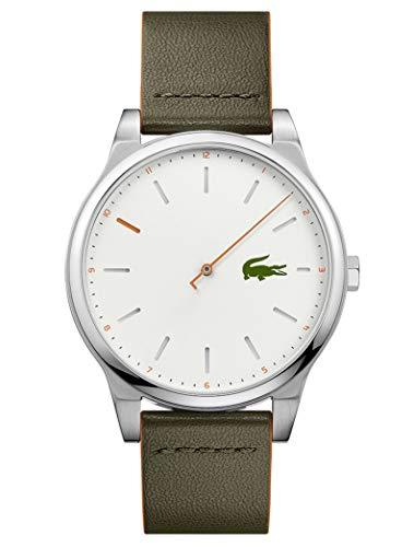 Lacoste Reloj Analógico para Hombre de Cuarzo con Correa en Cuero 2010967