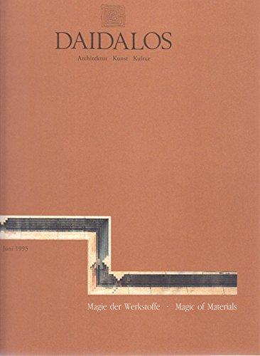 Daidalos 56: Magie Der Werkstoffe I & II / Magic of Materials I & II
