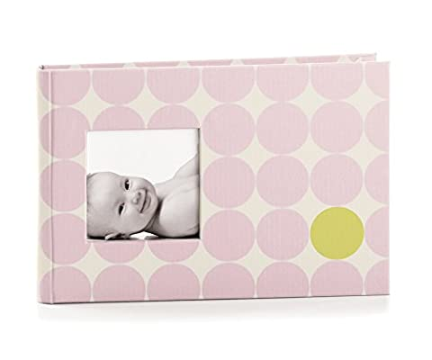 Pearhead Baby Bragbook (Pink with dots)