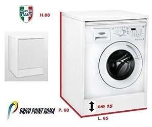 Armadio mobile coprilavatrice resina protezione lavatrice - Lavatrice esterno ...