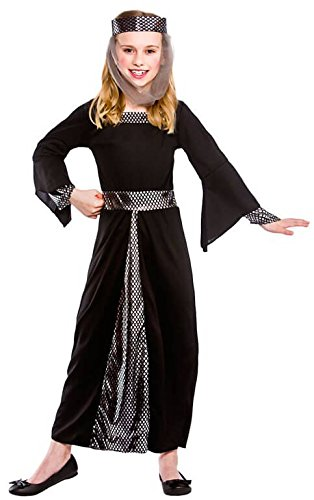 l Fancy Dress Up Party Costume Halloween Child Outfit Black (Office Ideen Für Halloween-kostüme)