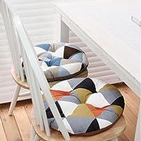 CLG-FLY Creative circolare modello geometrico cuscino sedia da pranzo cuscino