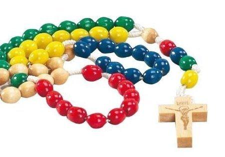 The Catholic Giftshop - Rosario de cuentas católico, multicolor