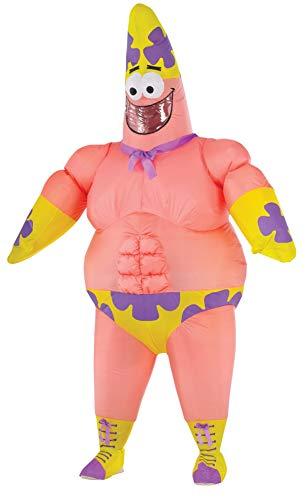 Kostüm Eine Star Patrick - Adult Inflatable Patrick Star Movie Fancy dress costume Standard
