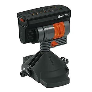 GARDENA Micro-Drip-System Viereckregner OS 90, Regner zur wassersparenden Bewässerung rechteckiger Flächen, höhenverstellbar, 8361-20
