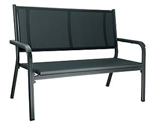 kettler basic plus gartenbank 2 sitzer alu gartenbank mit armlehnenpolsterung. Black Bedroom Furniture Sets. Home Design Ideas