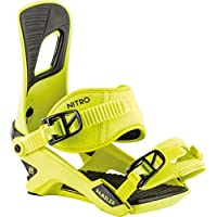 Nitro Snowboards Herren Rambler Bdg'19 All-Mountain Highend Snowboardbindung Komfortable Allroundbindung Bindungen