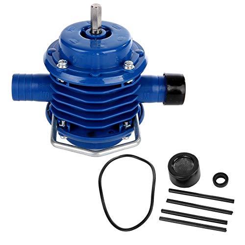Bohrpumpe, selbstansaugende Mehrzweck-Mini-Handbohrwasserpumpe aus technischen Kunststoffen für Schwimmbäder, Berieselungsanlagen, Durchflussbewässerungssysteme