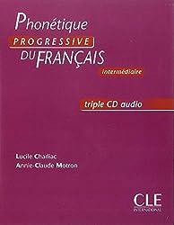 Phonétique progressive du français / CDs audio (3) intermédiare
