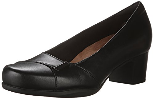 Pompa Clarks Rosalyn Belle Dress Black Leather