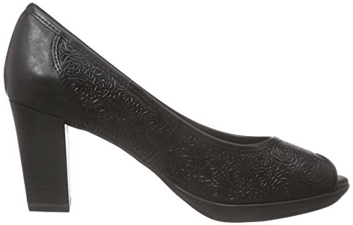 Marco Tozzi Premio Damen 29306 Pumps Schwarz (BLACK ANTIC 002)