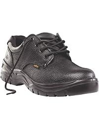 Baustellen Kohle Sicherheit Schuhe Schwarz Größe 7