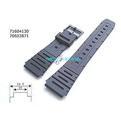 CASIO ORIGINAL RUBBER STRAP CA 20 MM-LOOP - 53W 1SW-W- 720-1 VD-W-720MV - 1 V