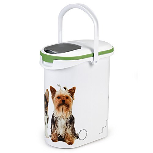 Curver 03904-P70-00 Pet-Futter Container 4 kg, 19.2 x 29.5 x 34.8 cm, 10 L - 2