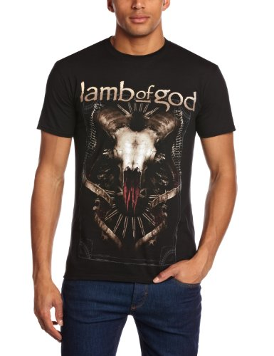 Plastic Head Herren, T-Shirt, Lamb Of God Tech Steer Schwarz
