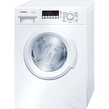 Bosch WAB28222 Serie 2 Waschmaschine FL A 153 KWh Jahr 1395 UpM 6 Kg AllergiePlus Weiss